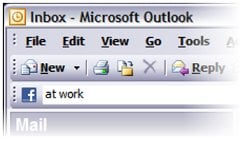 FBLook + Facebook = Outlook FBLook