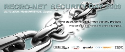 Fotografija članka: NAJAVLJUJEMO: RECRO-NET Security Day 2009
