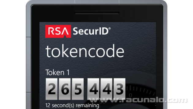 Fotografija članka: RSA SecurID token aplikacija pretvara vaš Windows Phone 8 u SecurID Autentifikator