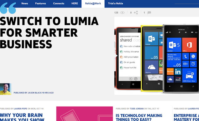 Nokia Conversation blog  ima  makeover u Windows Phone UI stilu 01