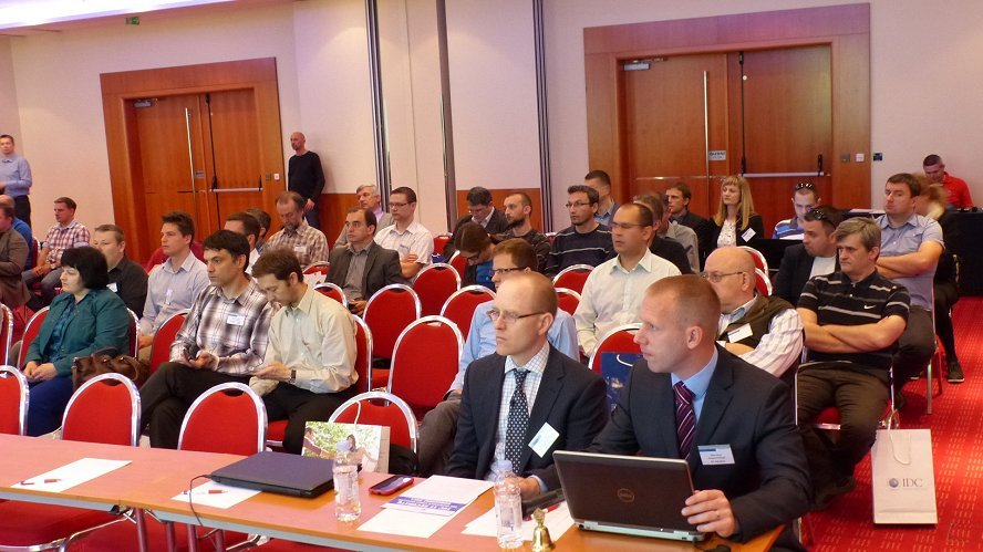 Fotografija IDC IT Security, Virtualization and IT Infrastructure Efficiency Roadshow 2014