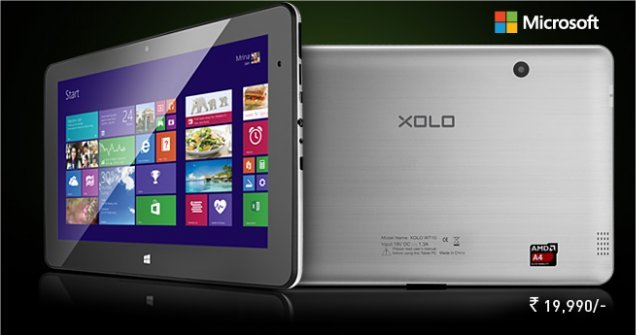 "Xolo Win prvi kompanijin Windows tablet s 10,1"" ekranom i AMD procesorom"